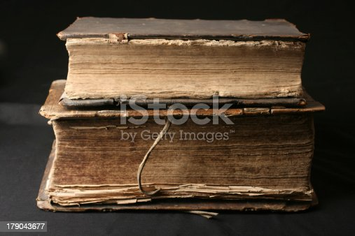 121305595 istock photo Old books from 16th Century 179043677