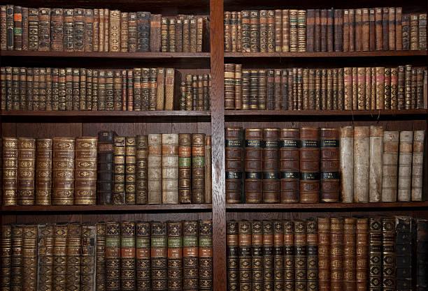 old books の旧図書館 ストックフォト