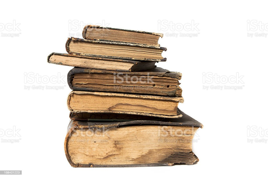 Old books royalty-free stock photo