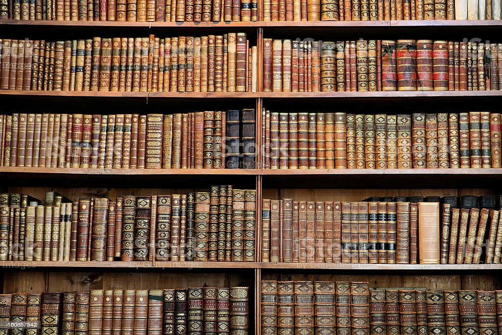 Alte Bücher - Lizenzfrei Alt Stock-Foto