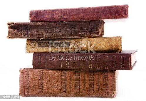 istock Old books 483838423
