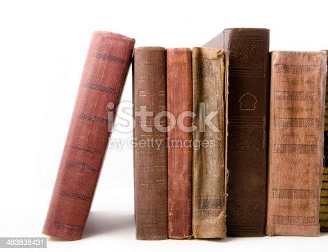 istock Old books 483838431