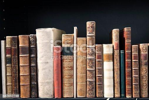 istock Old books 532412748