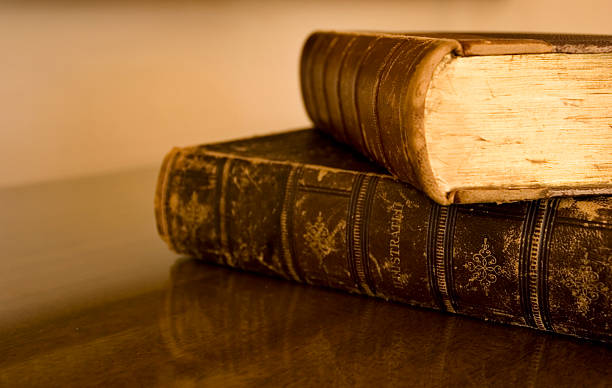 Old Books  arcane stock pictures, royalty-free photos & images