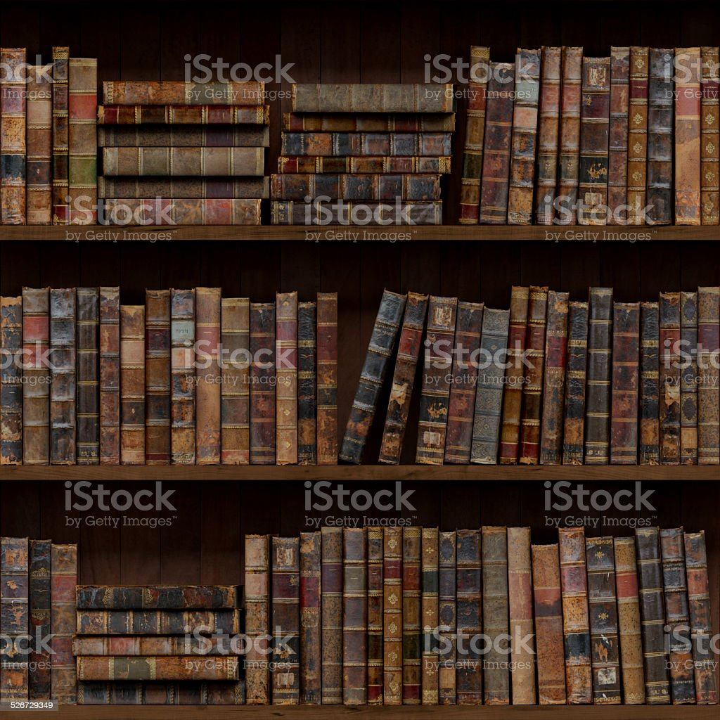 Old Books Seamless Texture Vertically And Horizontally Royalty Free Stock Photo