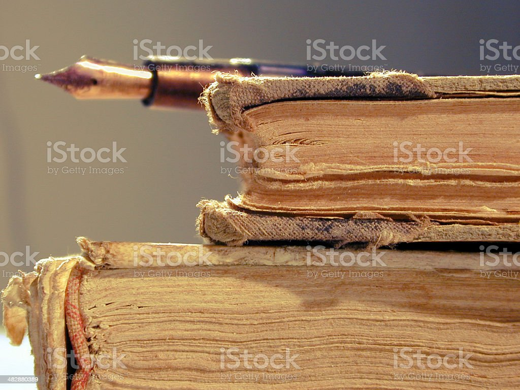 Old books series 04 royalty-free stock photo