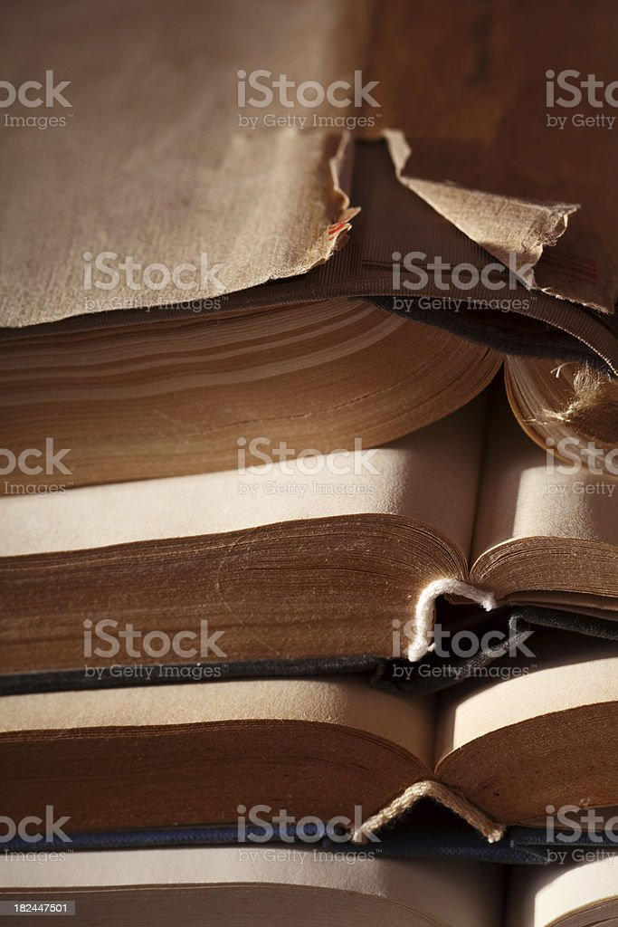 Old books XXXL royalty-free stock photo