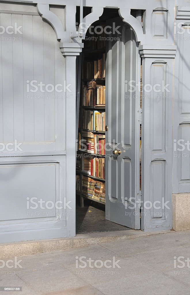 Old bookstore royalty-free stock photo