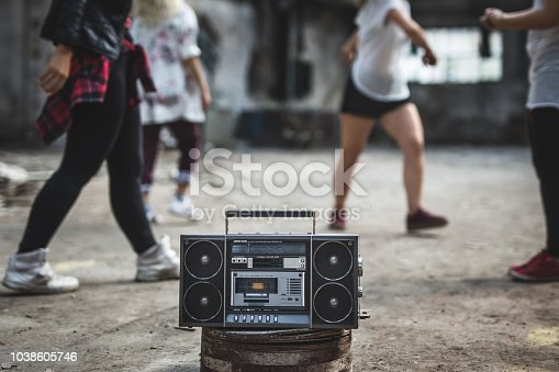 Old boombox