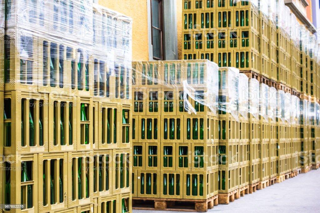 Alte Flaschen - Lizenzfrei Alkoholisches Getränk Stock-Foto