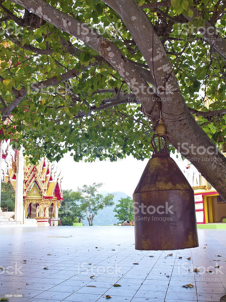 Old brass bell royalty-free stock photo