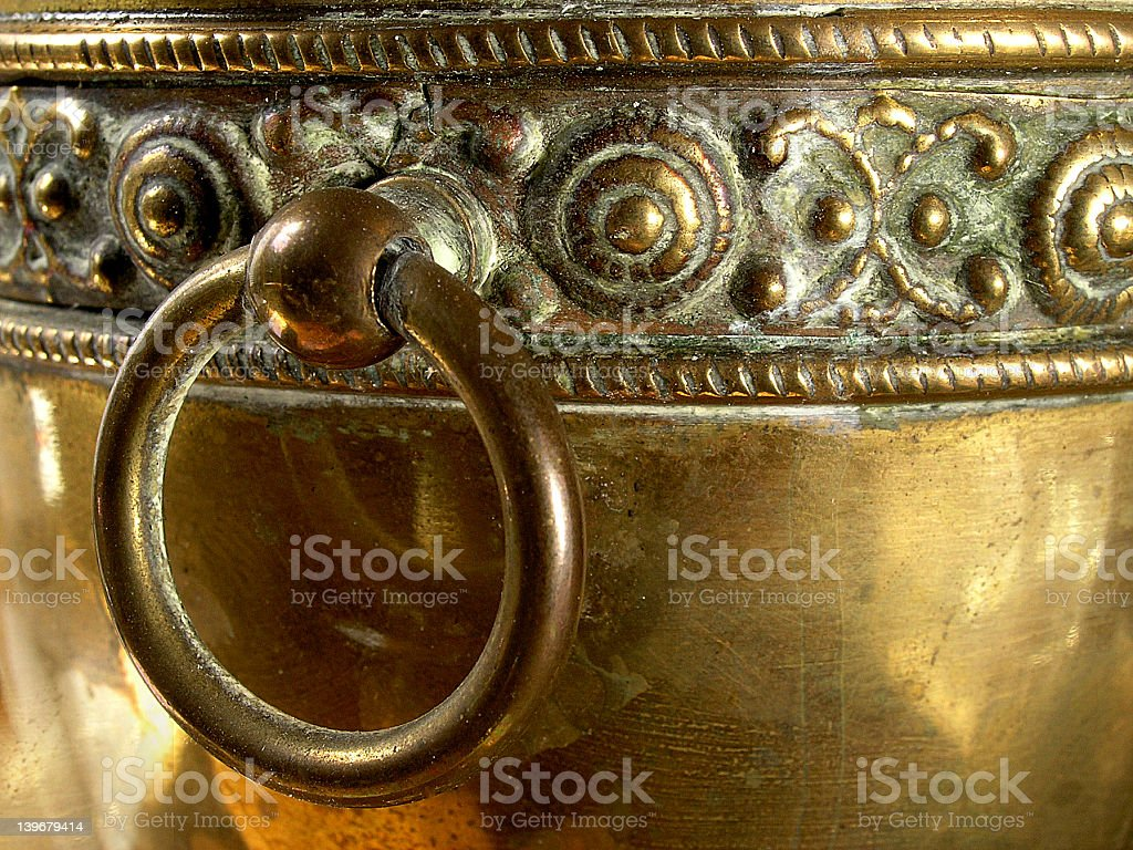 Old Brass royalty-free stock photo