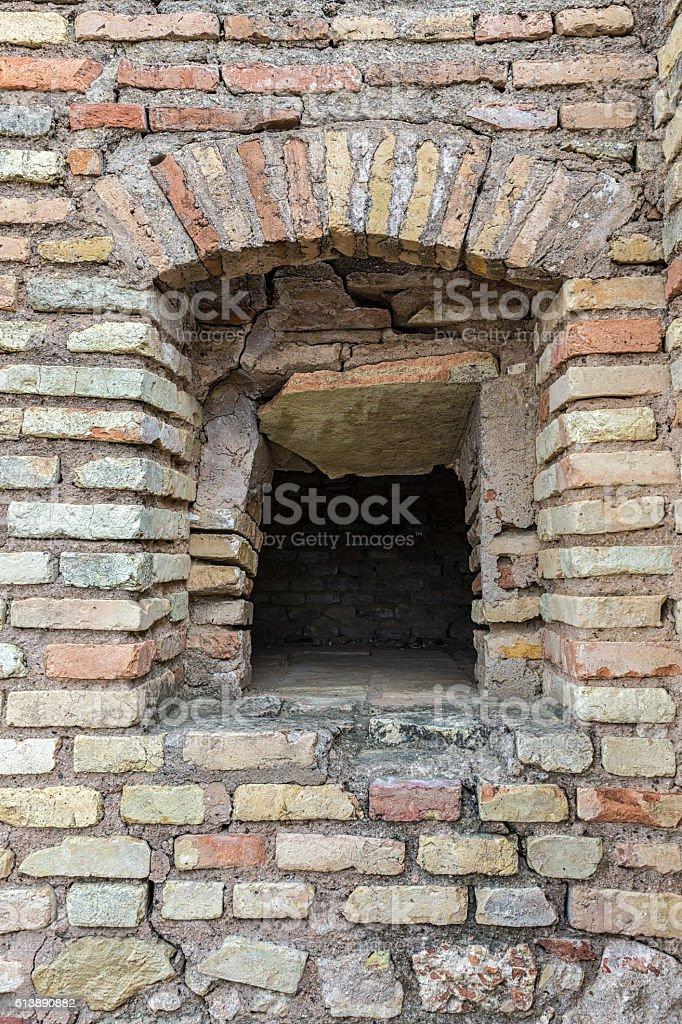 Old bread oven in Italica stock photo