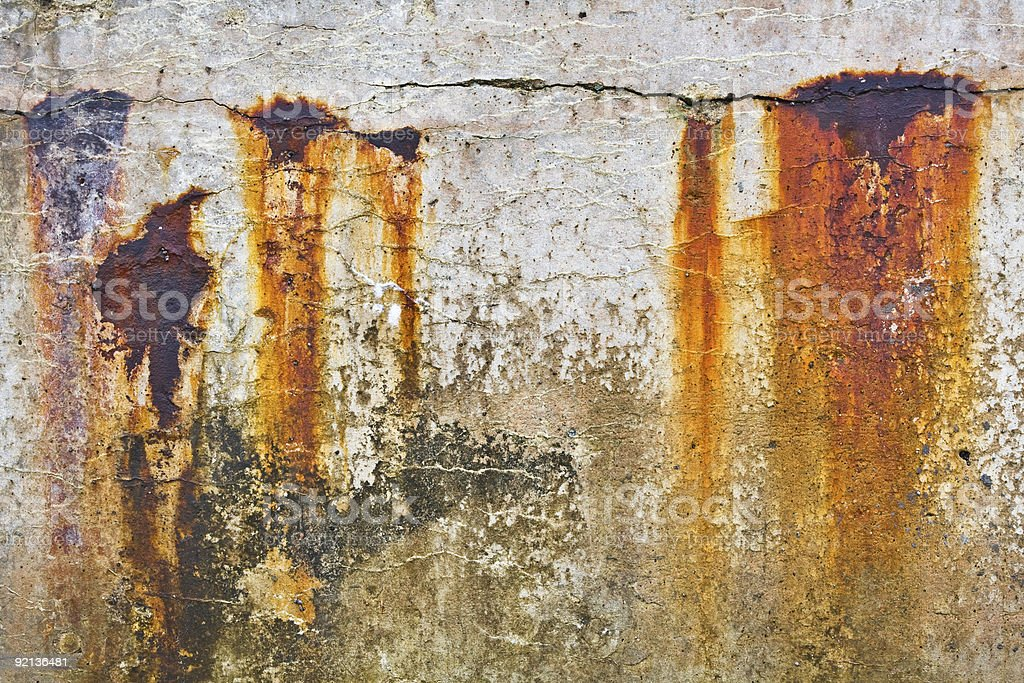 Old Breakwater royalty-free stock photo