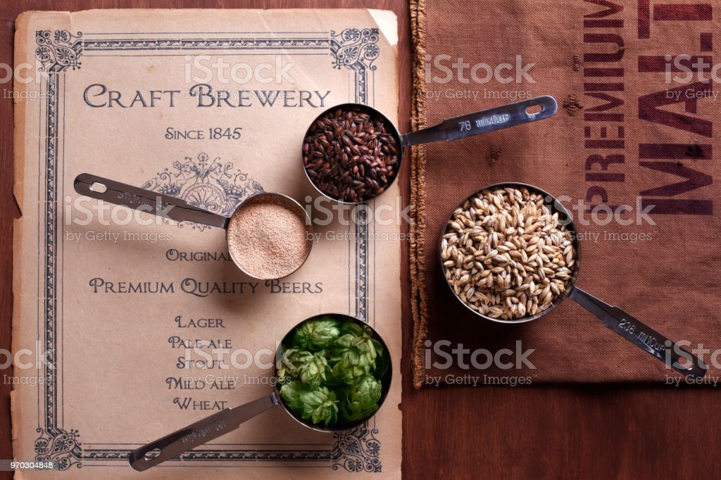 Old Brewery stock photo