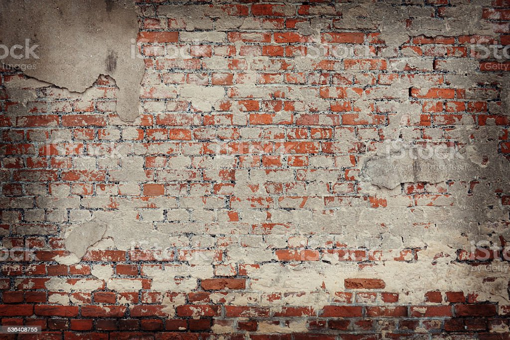 old brick background stock photo