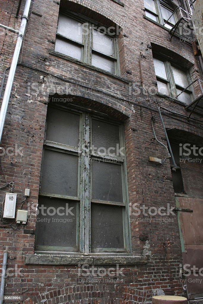 Old Brick Building stock photo