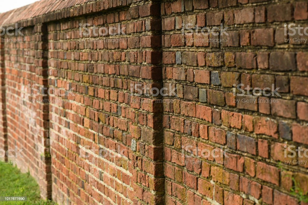 Old Brick Garden Wall Stock Photo Download Image Now Istock