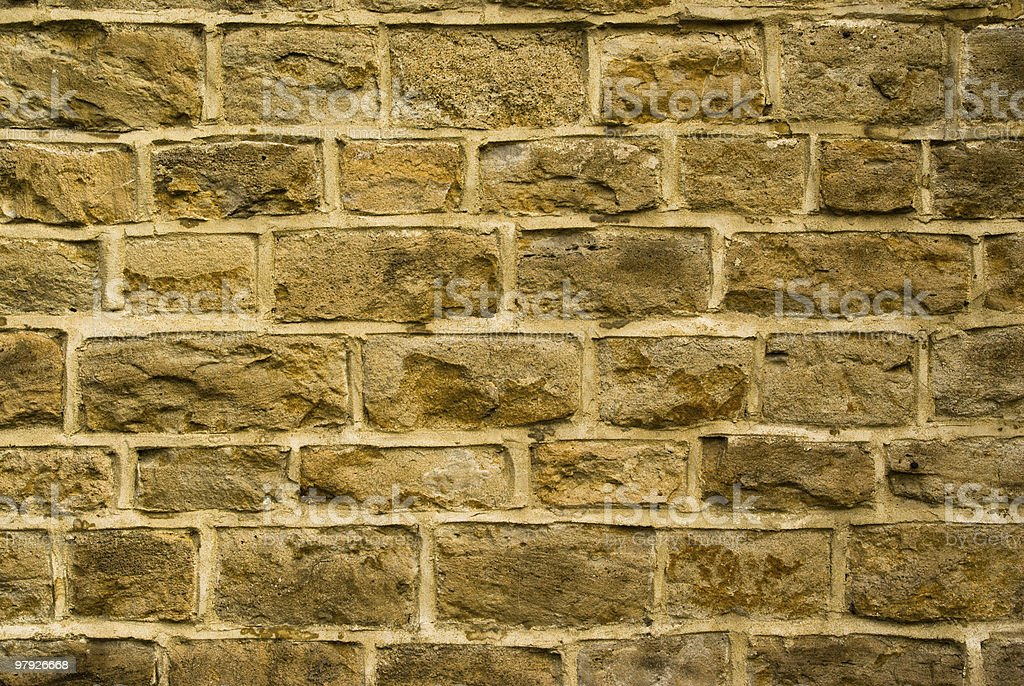 Old brick wall background royalty-free stock photo