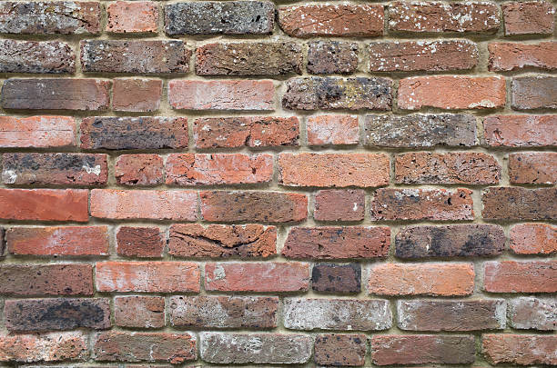Old Brick Wall Background Texture stock photo