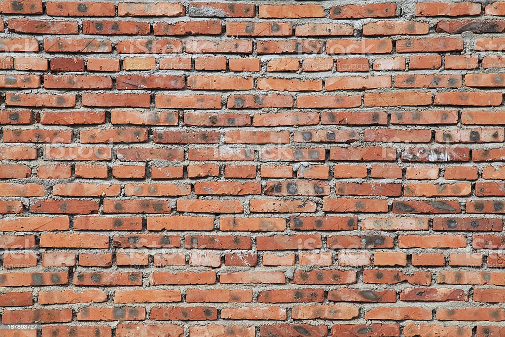 Old brick wall background-XXXL royalty-free stock photo