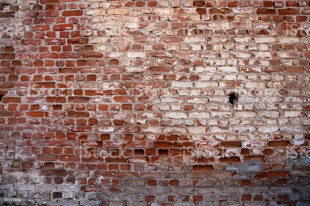 Old Brick Wall for Background stock photo