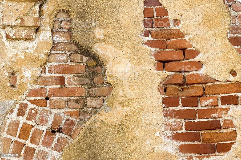 Old Brick Wall stock photo