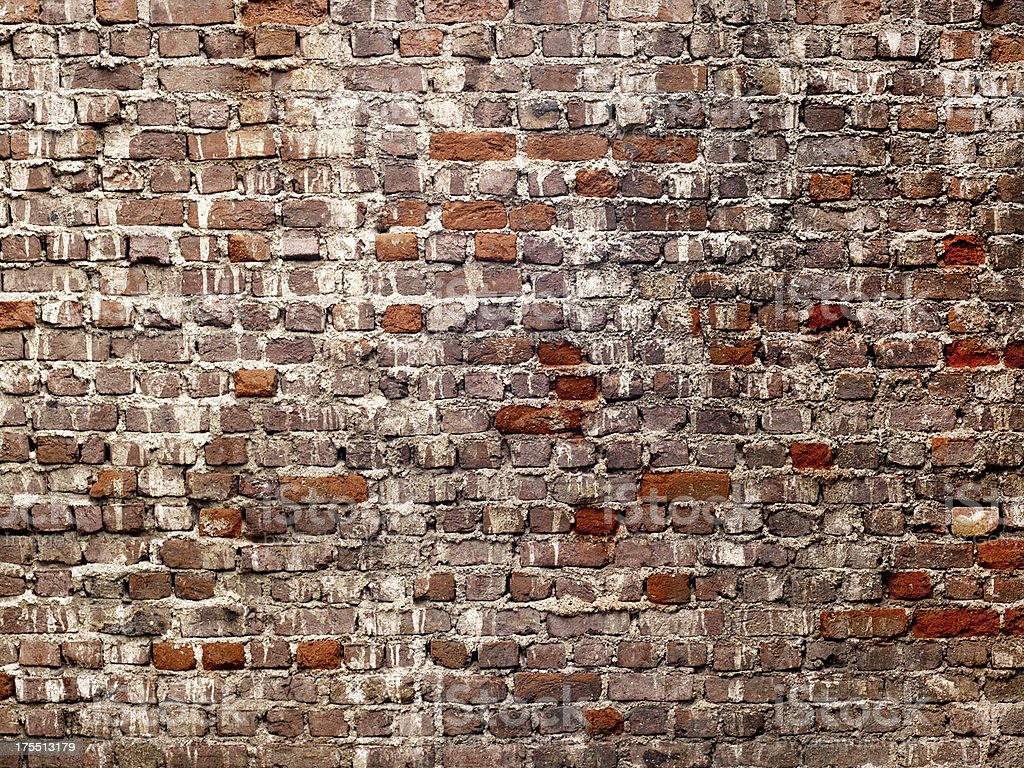 Old Brick Wall (Click for more) royalty-free stock photo