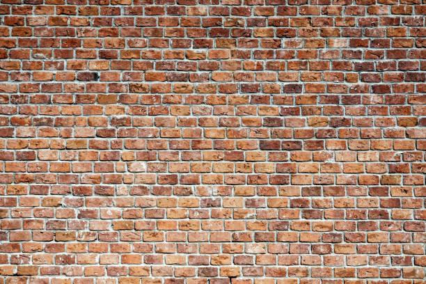 vieux mur de briques  - brique photos et images de collection