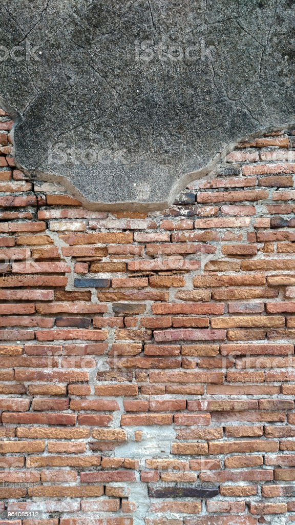 Old brick wall texture background - Royalty-free Accidents and Disasters Stock Photo