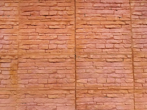 Old Brick Wall Texture For Background - Fotografias de stock e mais imagens de Antigo