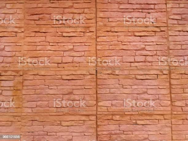 Gamla Tegel Vägg Textur För Bakgrund-foton och fler bilder på Arkitektur