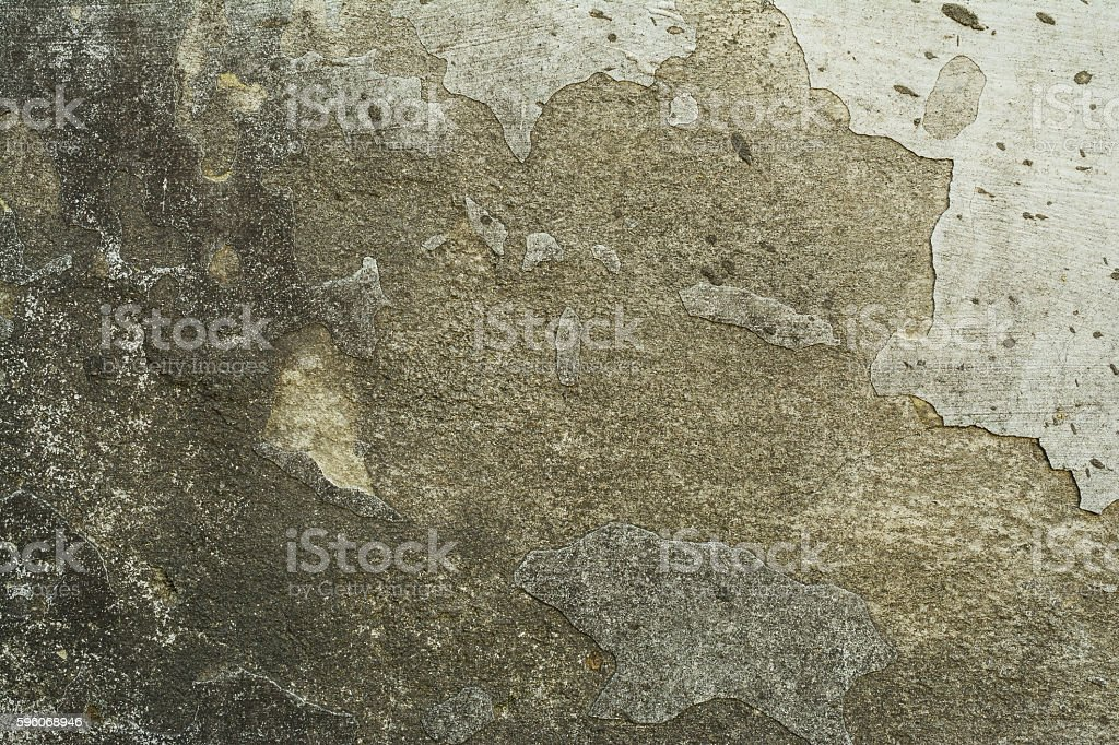 Old brick wall with plaster and decal royalty-free stock photo