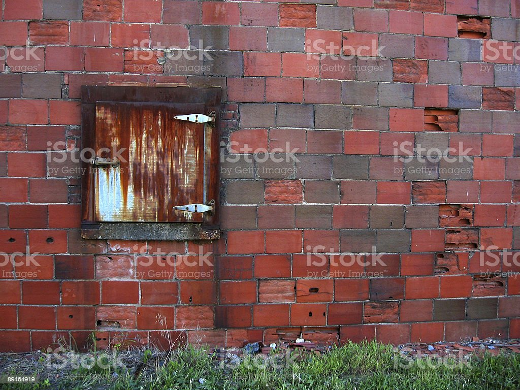Old Brick Warehouse royalty-free stock photo