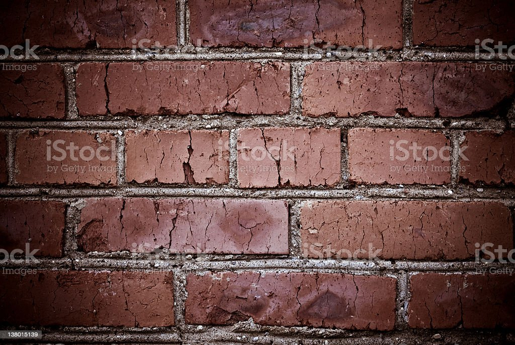 Old bricks texture royalty-free stock photo