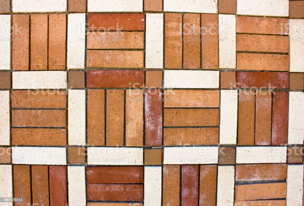 Old brickwork. The wall is made of the bricks. royalty-free stock photo