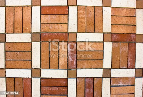 Old Brickwork The Wall Is Made Of The Bricks Stock Photo & More Pictures of Abstract