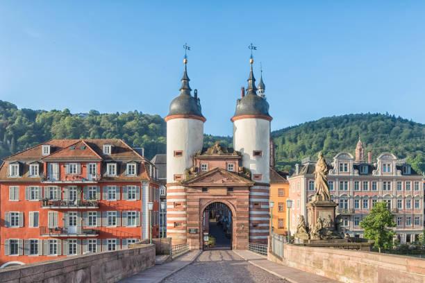 Old Bridge Gate in Heidelberg, Germany – Foto