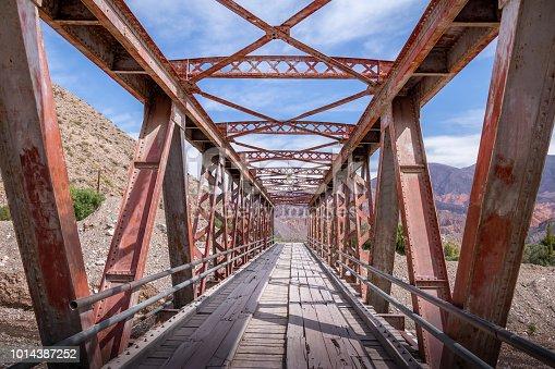 Old bridge in Tilcara city - Tilcara, Jujuy, Argentina