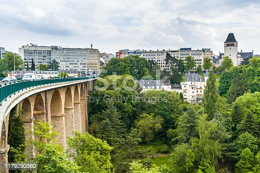 Benelux, Europe, Luxembourg - Benelux, Luxembourg City - Luxembourg, Adolphe Bridge
