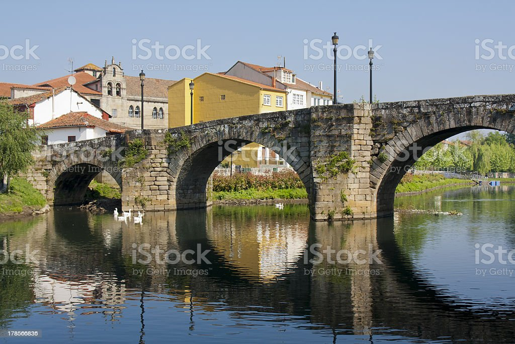 Old bridge royalty-free stock photo