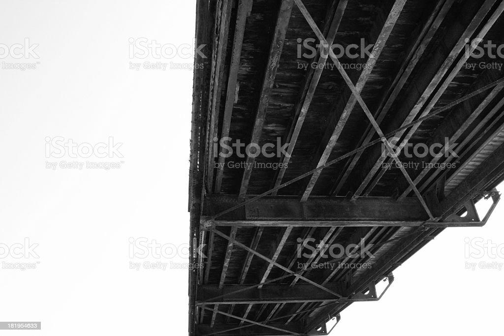 Old bridge stock photo