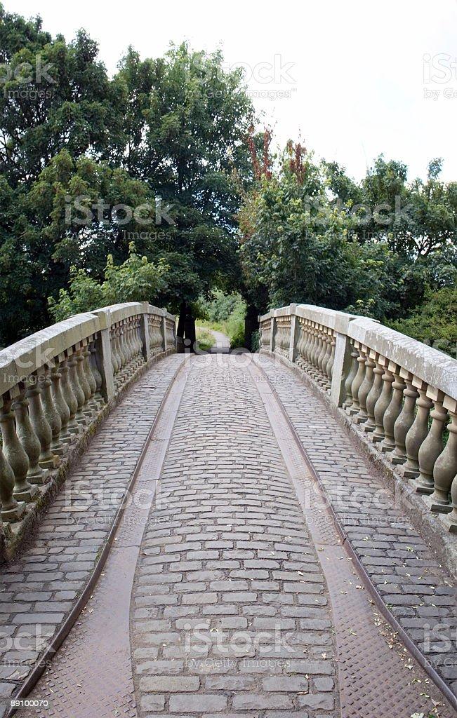 Puente viejo foto de stock libre de derechos