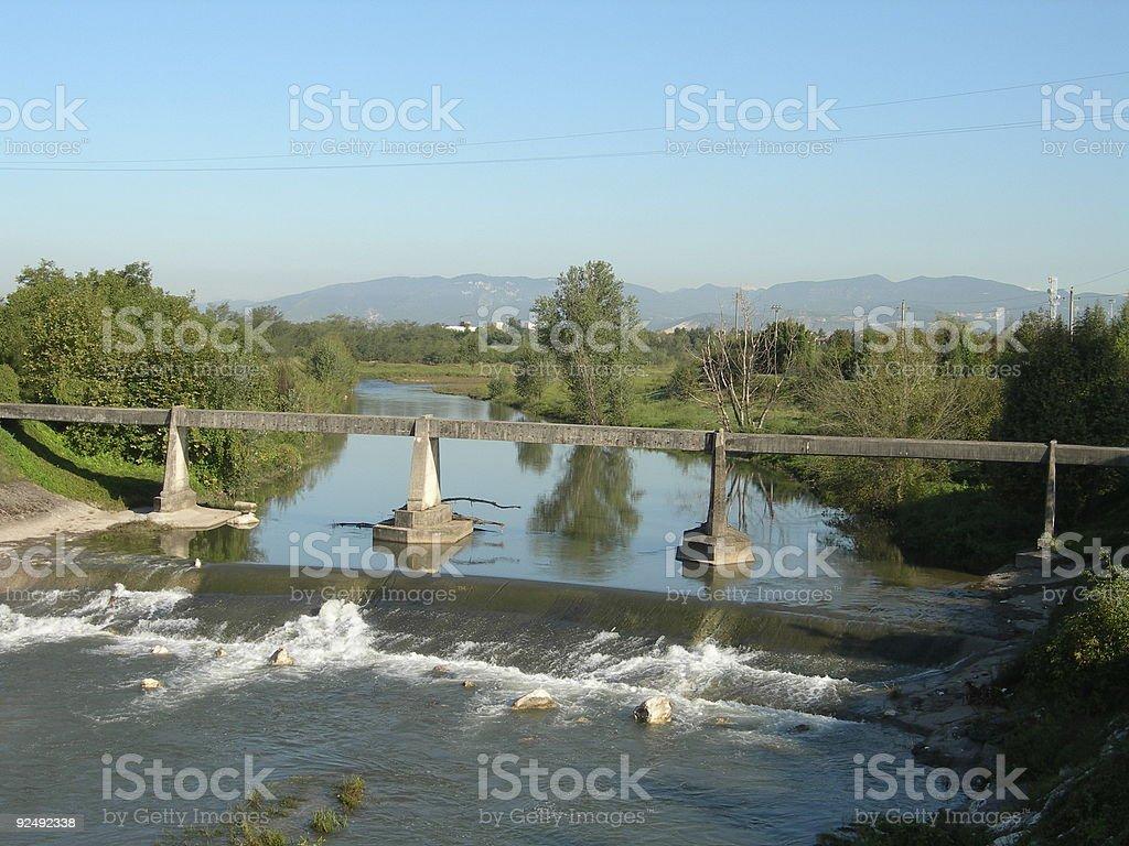Old Bridge royalty-free stock photo