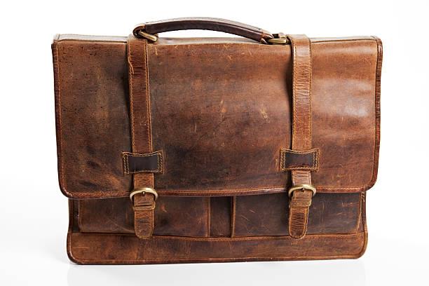 旧のあるブリーフケース - バッグ 古い ストックフォトと画像