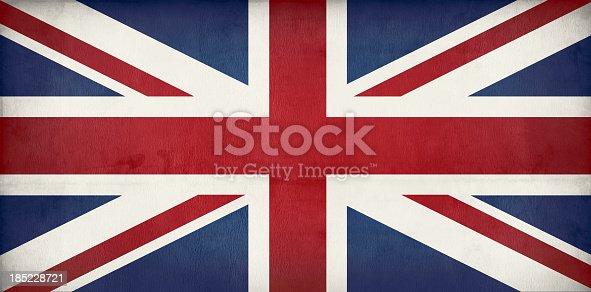 old British flag - Union jack dirty