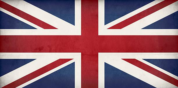 오래된 영국 플랙-우니온 잭볼 - 영국 국기 뉴스 사진 이미지