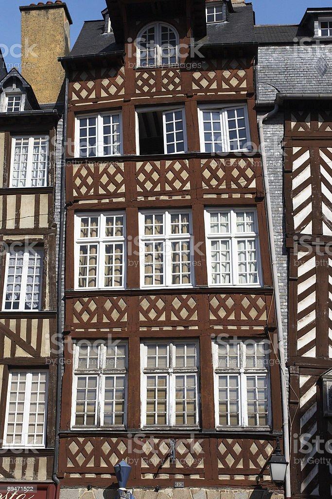 Old Brittany casa foto de stock libre de derechos