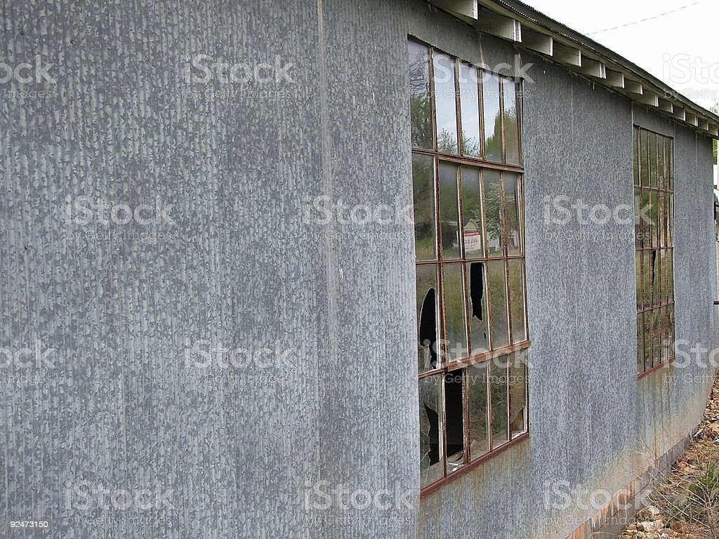 Old Broken Building royalty-free stock photo