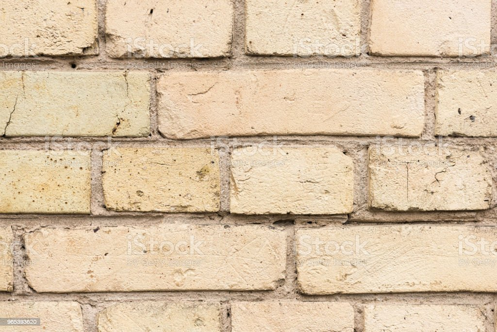 Old broken clay bricks background royalty-free stock photo